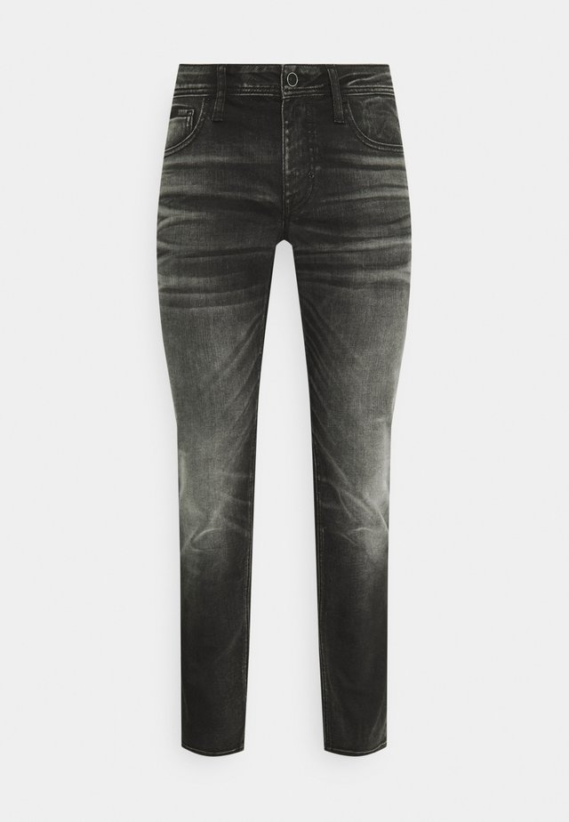 OZZY STRETCH  - Jeans Tapered Fit - nero
