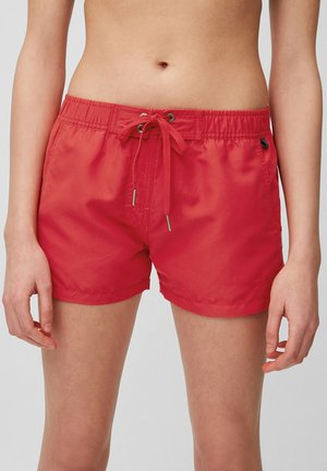 Swimming shorts - deep red