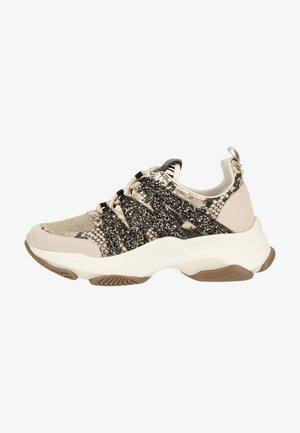 Sneakers - tan snake 862