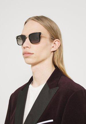 HAYDEN - Sunglasses - shiny black/roe gold-coloured/roviex