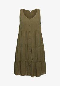 edc by Esprit - Day dress - khaki green - 5