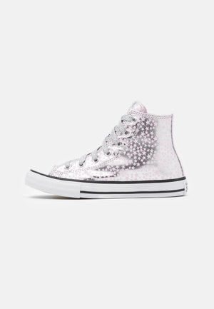 CHUCK TAYLOR ALL STAR - Vysoké tenisky - silver/pink glaze/white