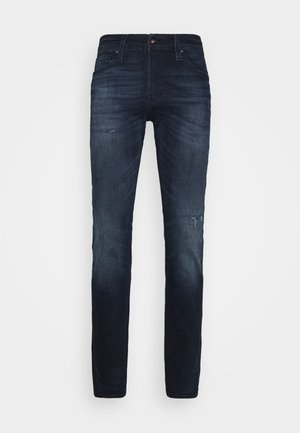 JJIGLENN JJICON  - Slim fit jeans - blue denim
