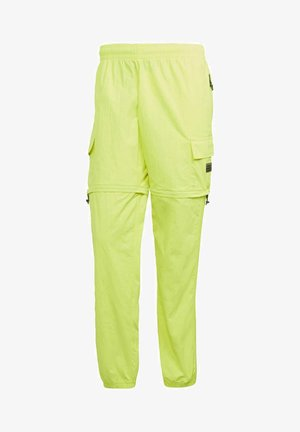 R.Y.V. UTILITY 2-IN-1 TRACKSUIT BOTTOMS - Tracksuit bottoms - yellow