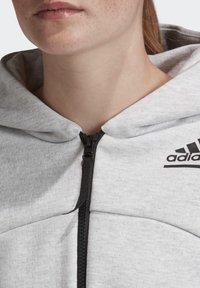 adidas Performance - ADIDAS Z.N.E. HOODIE - Zip-up hoodie - grey - 4