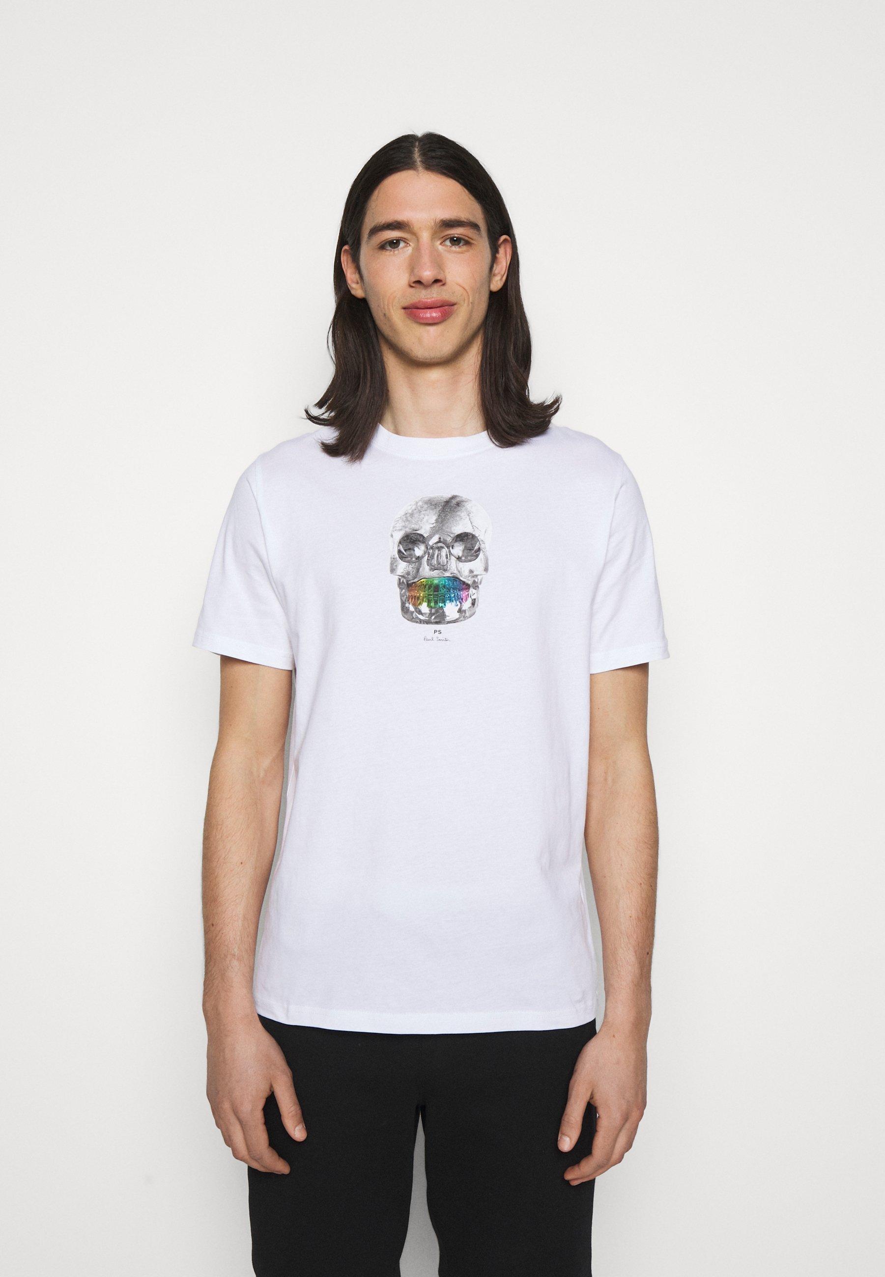 Men MENS REGULAR  FIT SKULL - Print T-shirt