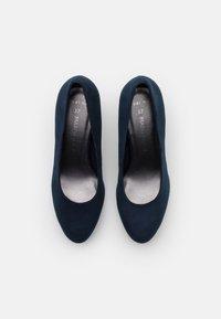 Marco Tozzi - COURT SHOE - High heels - navy - 5