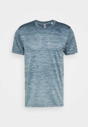 GRADIENT TEE - T-shirt de sport - sky tint melange