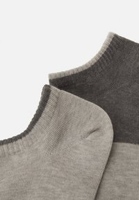Levi's® - LOW CUT 2 PACK UNISEX - Socks - grey combo - 1