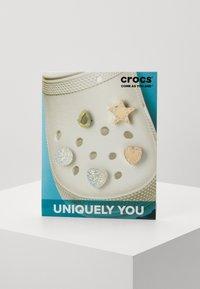 Crocs - SHINY 5 PACK - Inne akcesoria - silver-coloured/gold-coloured - 0