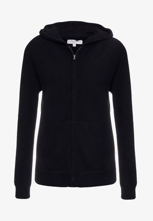 THE HOODIE - Cardigan - black