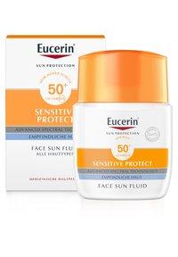 Eucerin - SONNENSCHUTZ SUN SENSITIVE PROTECT FACE FLUID LSF 50+ - Sun protection - - - 1