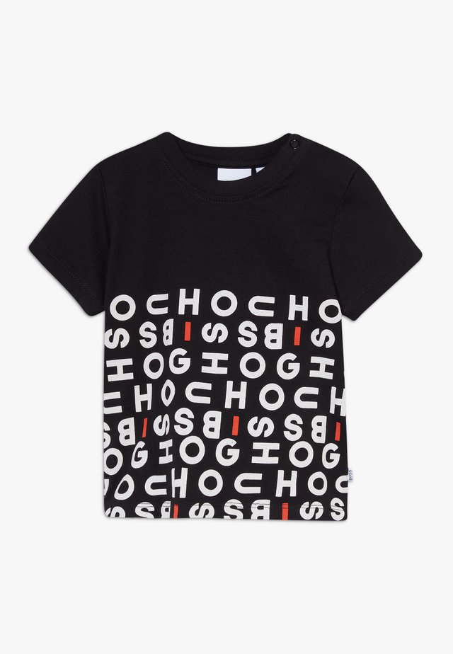 SLEEVES TEE - Print T-shirt - black