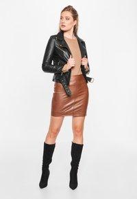 BTFCPH - EMMA - Leather jacket - black - 1