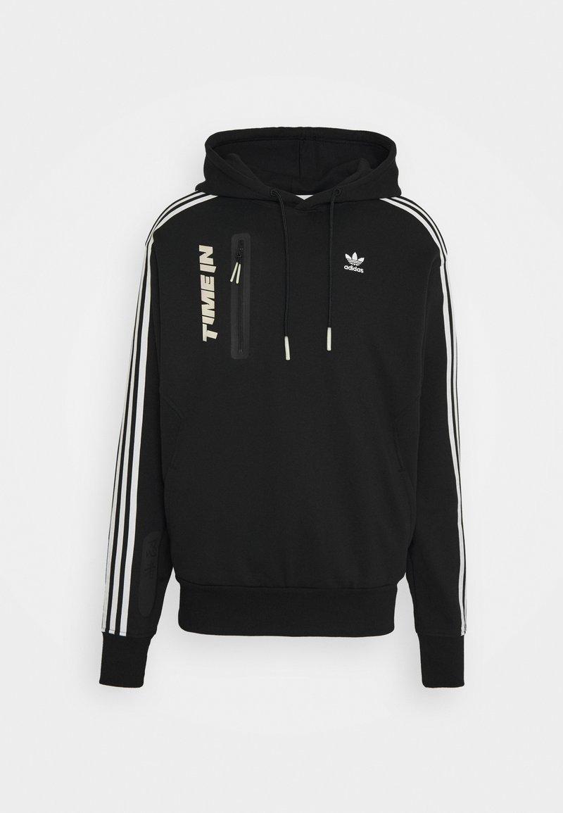 adidas Originals - NINJA HOODIE UNISEX - Sweatshirt - black