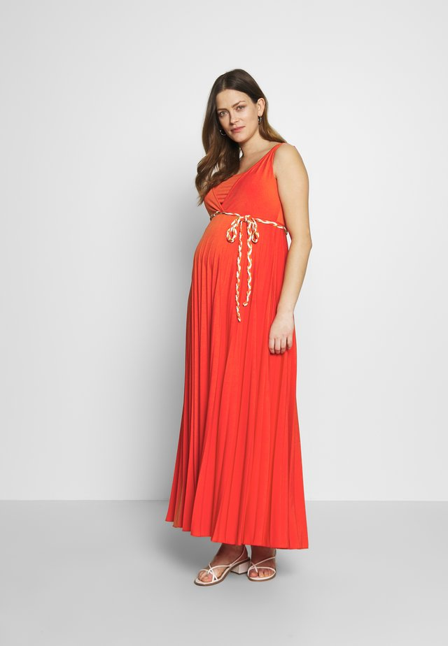IMANI - Maxi dress - corail