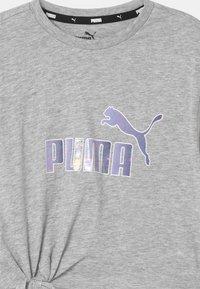 Puma - LOGO SILHOUETTE - Camiseta estampada - light gray heather - 2