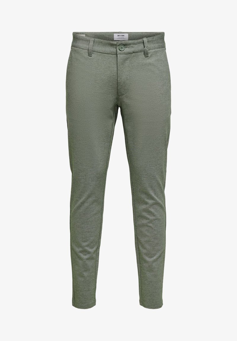 Only & Sons - ONSMARK TAP PANT  - Broek - olive night