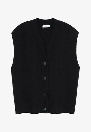 NATI - Cardigan - zwart