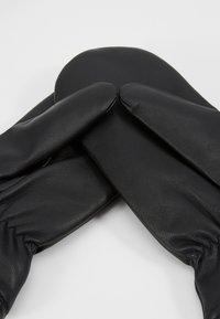 Pieces - Mittens - black - 4