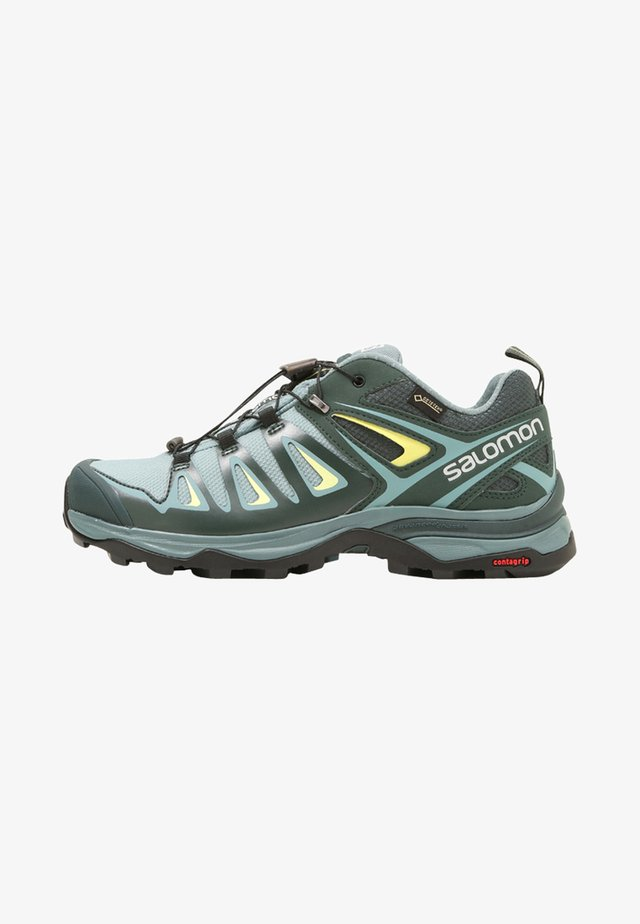 X ULTRA 3 GTX  - Hiking shoes - artic/darkest spruce/sunny lime