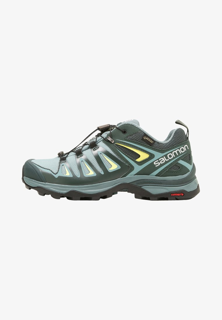 Salomon - X ULTRA 3 GTX  - Hiking shoes - artic/darkest spruce/sunny lime