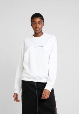 F-ANG-COPY - Sweatshirt - white