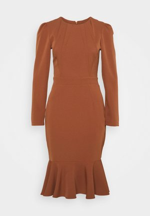 KAHVERENGI - Shift dress - brown