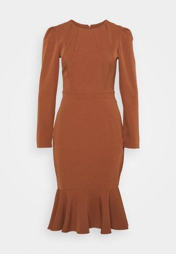 KAHVERENGI - Shift dress - brown