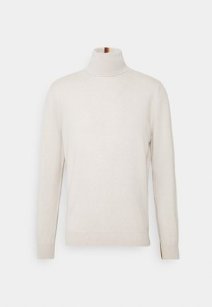 GENTS ROLL NECK - Pullover - beige
