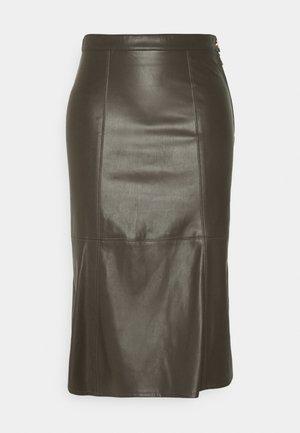 GONNA/SKIRT - Pencil skirt - mangrove green