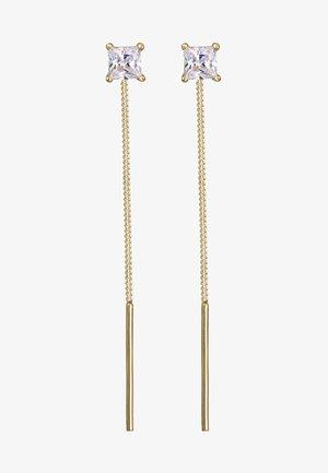 GEO KUGEL MINIMAL - Earrings - gold-coloured