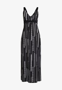Anna Field - Maxiklänning - black/white - 3