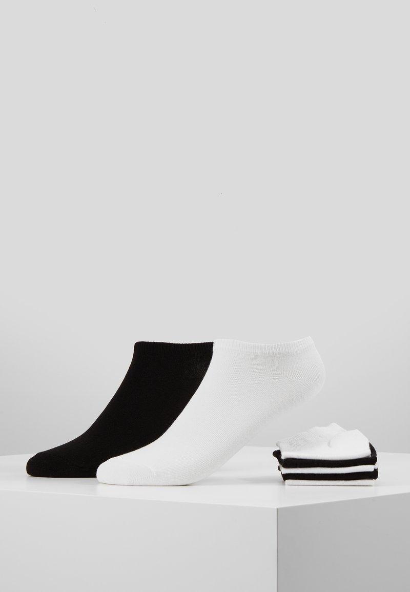 Pier One - 7 PACK - Strumpor - white/black