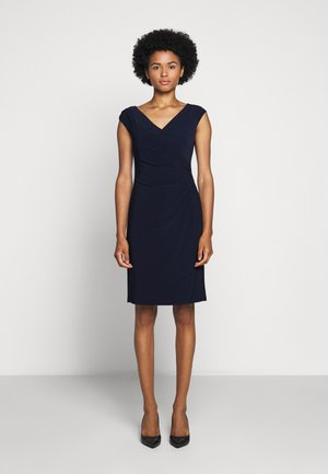 MID WEIGHT DRESS - Shift dress - lighthouse navy