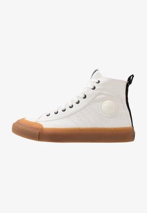 ASTICO S-ASTICO MID LACE - Höga sneakers - star white