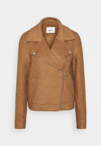 ONLASHA BIKER - Summer jacket - toasted coconut