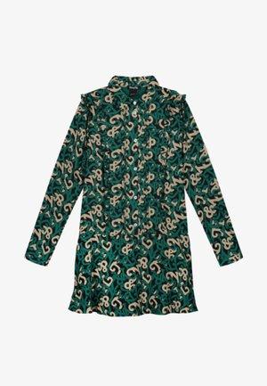 Etui-jurk - groen