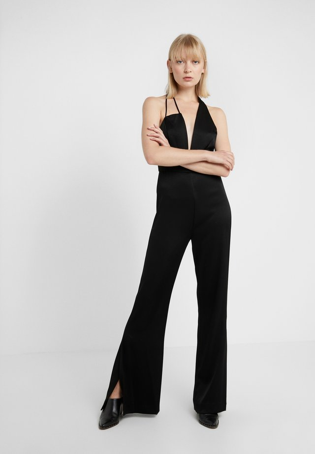 SAWYER - Tuta jumpsuit - black