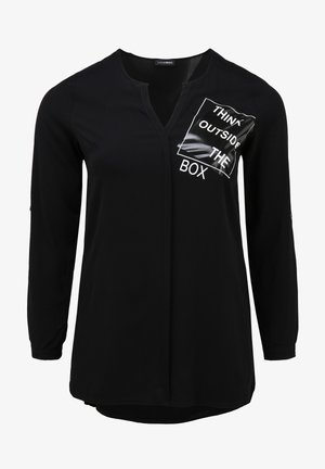 THINK OUTSIDE THE BOX - Blouse - schwarz/weiß