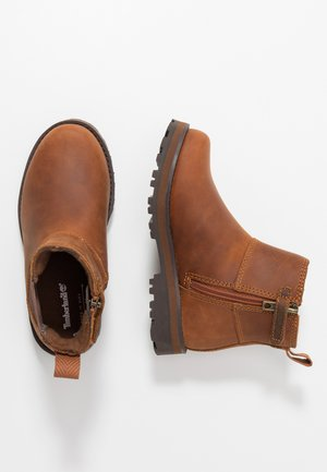COURMA CHELSEA - Korte laarzen - medium brown