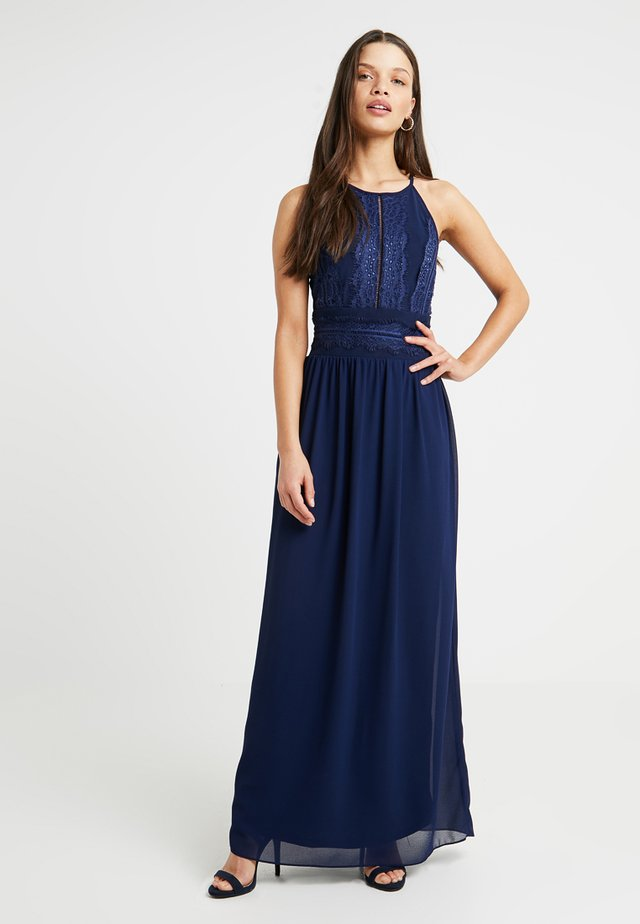 GETA - Maxi dress - navy tone on tone