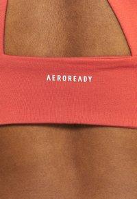 adidas Performance - Light support sports bra - crew red - 4