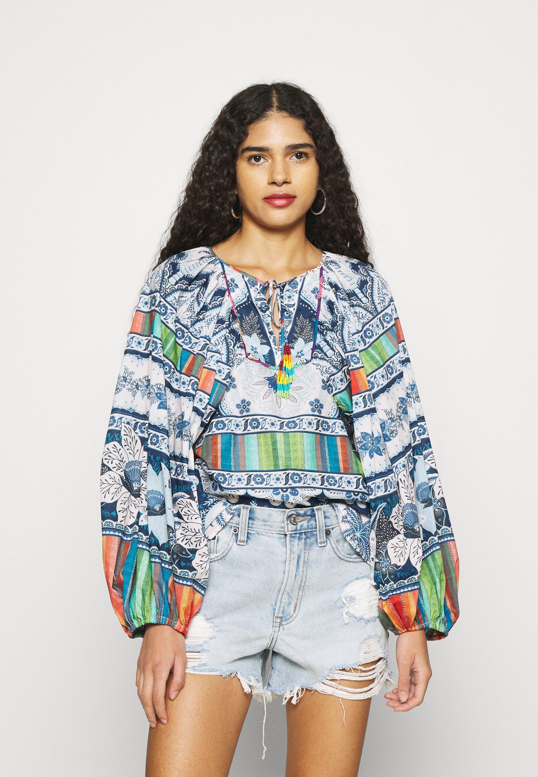Women PALMS BLOUSE - Long sleeved top