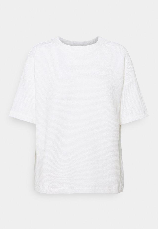 GINSTA - T-shirt basic - milk