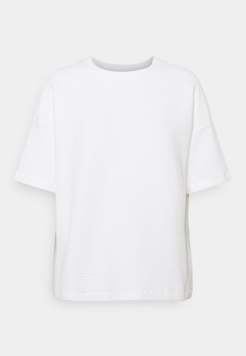 Opus - GINSTA - T-shirt basic - milk