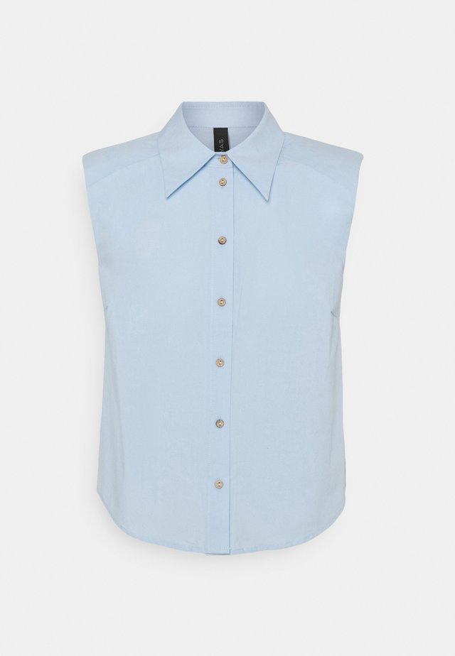 YASAGANA - Button-down blouse - blue