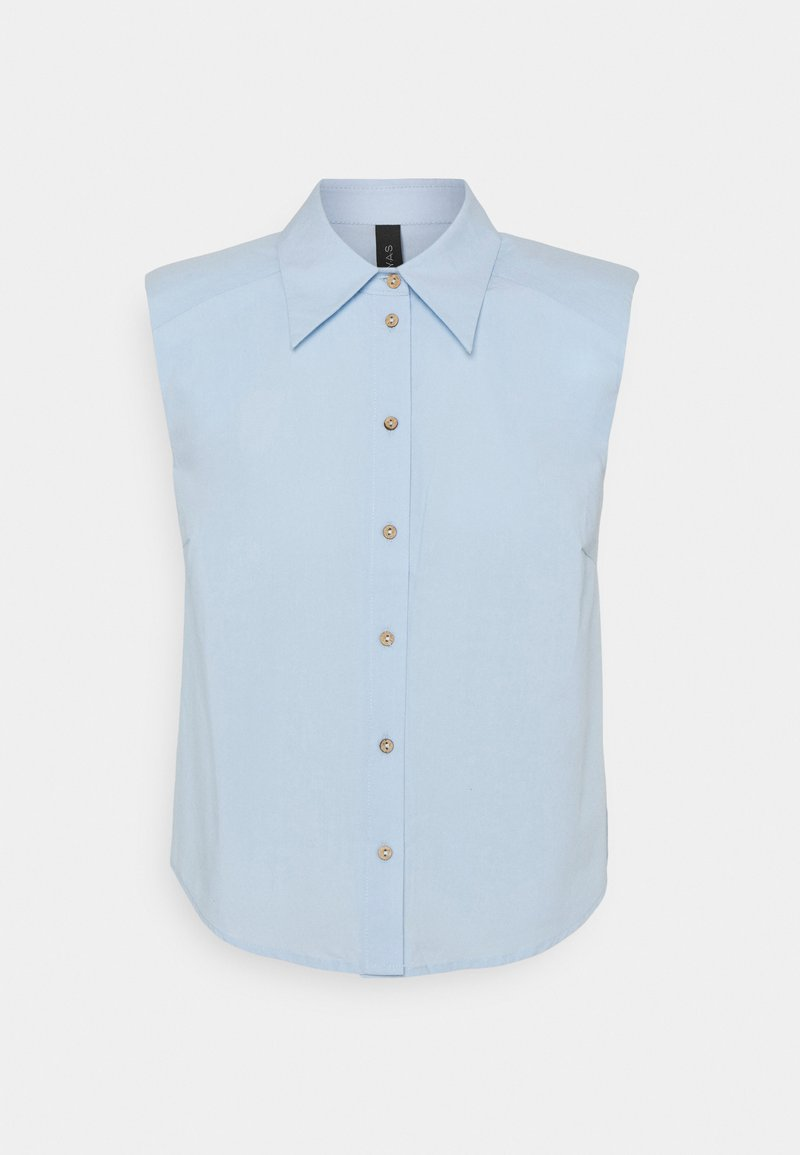 YAS - YASAGANA - Button-down blouse - blue