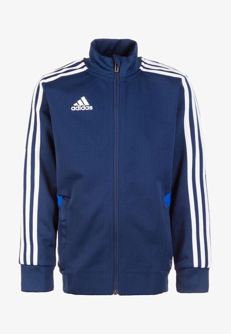 adidas Performance - TIRO 19 CLIMALITE TRACKSUIT - Kurtka sportowa - dark blue / bold blue / white