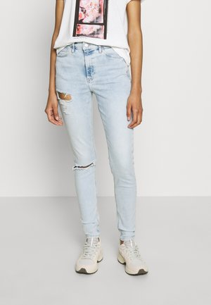 BROOKLYN JAMIE  - Skinny džíny - bleached denim